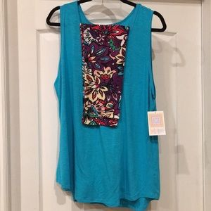 NWT LuLaRoe Tank Top and Legging Outfit